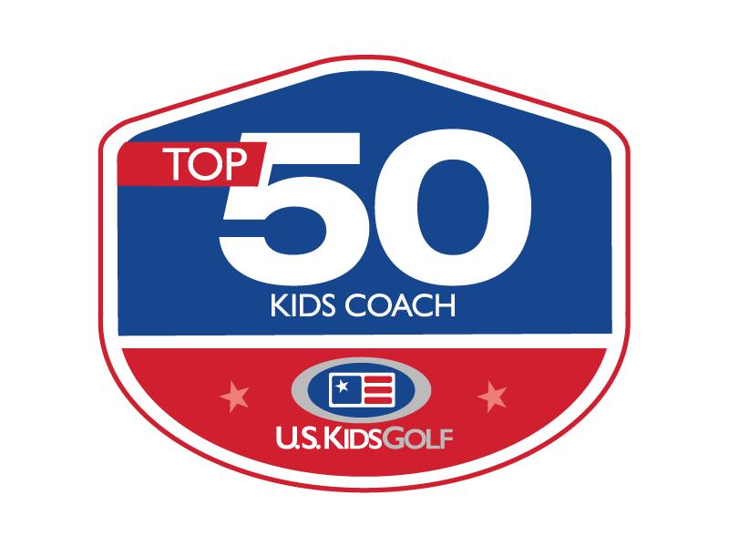 Top 50 Kids Coach Logo
